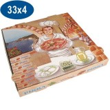 BTE PIZZA 33X33X4 SUPER PPT (X100)