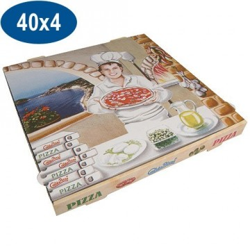BTE PIZZA 40X40X4 SUPER PPT (X100)