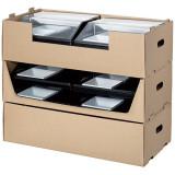 Coffret carton pour plateaux Cube