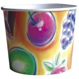 POT A GLACE CARTON 3 BOULES DECOR FRUITS (24X50)