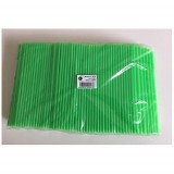 PAILLE BIODEGRADABLE VERTE 230MM DIAM.6MM X10000 (40X250)