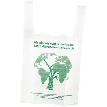 Sac bretelle biodégradable 26x6x45 cm
