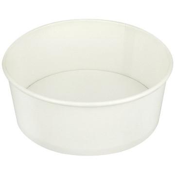 Saladier rond carton blanc 750ml