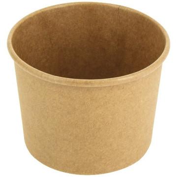 Pot à soupe brun 350 ml