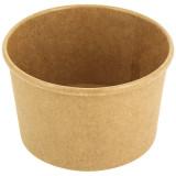 Pot à soupe carton renforcé kraft brun 24cl / 8oz